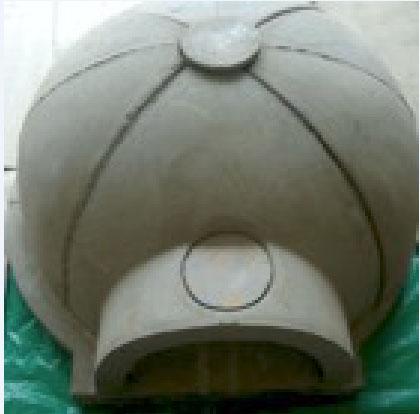 Manta de fibra de cerâmica