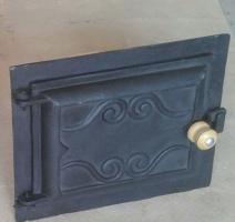 Porta de ferro fundido