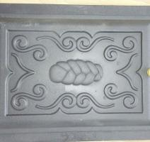 Porta de ferro fundido para forno