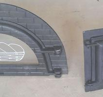 Porta para forno iglu
